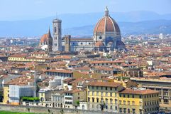 stad florence italy Arkivfoto