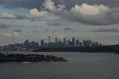 Stad från havet Royaltyfria Foton