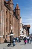stad gammala gdansk Fotografering för Bildbyråer