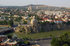 stad gammala georgia arkivbild