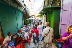 stad gammala jerusalem Royaltyfria Bilder