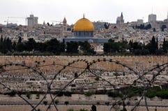 stad gammala jerusalem Royaltyfri Bild