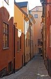 stad gammalt s stockholm Arkivbilder