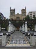 Stad Gijon Asturias Spanien royaltyfri bild