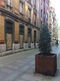 Stad Gijon Asturias Spanje stock foto