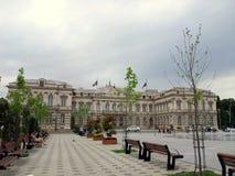 Stad Hall Bacau Royaltyfri Foto