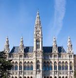 Stad Hall Building i Wien Royaltyfri Fotografi