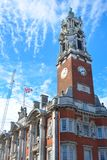 Stad Hall Colchester Essex Royaltyfria Foton