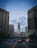 Stad Hall Downtown Philadelphia Pennsylvania royaltyfri bild