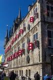 Stad Hall Gouda Stock Foto's