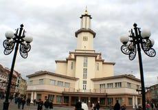 Stad Hall Ivano-Frankivsk Royaltyfria Foton
