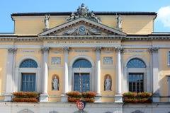 Stad Hall Lugano stock fotografie