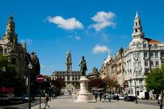 Stad Hall Main Square arkivfoto