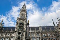 Stad Hall Munich Arkivfoton