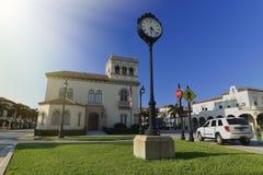 Stad Hall Palm Beach Arkivfoton