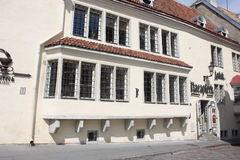 Stad Hall Pharmacy (Raeapteek) Tallinn Estland Stock Fotografie