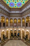 Stad Hall Sarajevo, Bosnië-Herzegovina stock fotografie