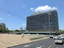 Stad Hall Tel Aviv in Israël stock afbeeldingen