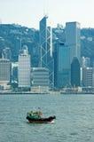 stad Hong Kong Royaltyfria Bilder