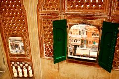 Stad i Indien Royaltyfri Fotografi