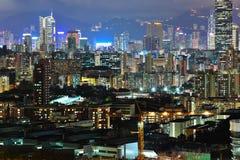 stad i stadens centrum Hong Kong fotografering för bildbyråer