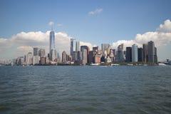 stad i stadens centrum manhattan New York Royaltyfria Bilder