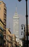 stad i stadens centrum mexico Arkivbilder
