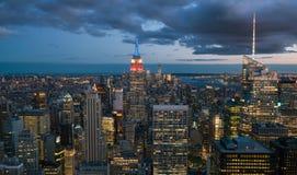stad i stadens centrum New York Fotografering för Bildbyråer