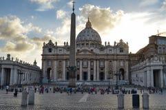 stad italy rome vatican royaltyfria foton