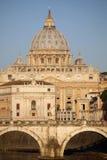 stad italy rome vatican Arkivfoto