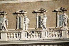stad italy rome vatican arkivbild