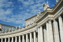 stad italy vatican arkivfoto