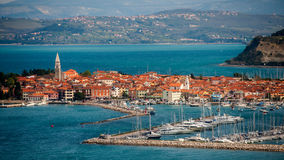 Stad Izola, Slovenien Royaltyfri Bild