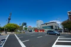 stad japan nagoya Royaltyfria Bilder