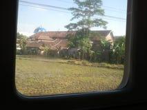 Stad Java Indonesia Stock Foto's