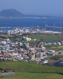 stad jeju korea royaltyfria bilder
