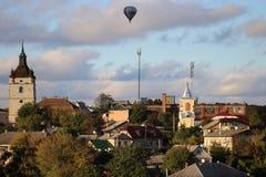 Stad kamenetz-Podolsk de Oekraïne Royalty-vrije Stock Fotografie