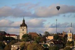 Stad kamenetz-Podolsk de Oekraïne Royalty-vrije Stock Foto