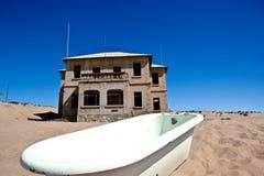 Stad Kolmanskop in Namibië Royalty-vrije Stock Foto
