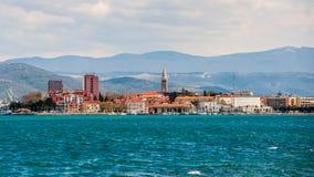Stad Koper, Slovenien Arkivfoto