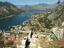 Stad Kotor stock foto's