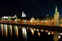 stad kremlin moscow Royaltyfri Bild
