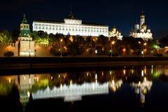 stad kremlin moscow Arkivfoto