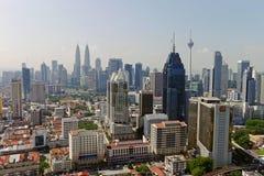 stad Kuala Lumpur Royaltyfri Fotografi