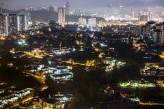 stad Kuala Lumpur Arkivbild
