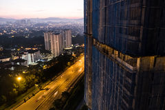 stad Kuala Lumpur Royaltyfri Foto