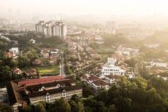 stad Kuala Lumpur Arkivbilder