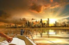 stad kuwait Royaltyfri Fotografi