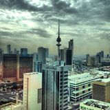 stad kuwait Royaltyfri Bild
