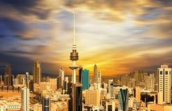 stad kuwait Royaltyfria Bilder